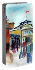 Pier 39 San Francisco Portable Battery Charger by Tom Simmons