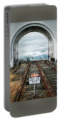 Pier 43 Ferry Arch San Francisco California Portable Battery Charger by Mary Lee Dereske