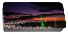 Pier And Lighthouse Portable Battery Charger