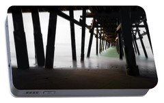Portable Battery Charger featuring the photograph Pier Pressure by Sean Foster