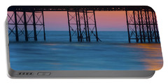 Pier Supports At Sunset I Portable Battery Charger