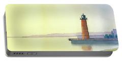 Pierhead Lighthouse, Milwaukee Portable Battery Charger