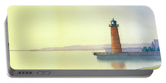 Pierhead Lighthouse, Milwaukee Portable Battery Charger