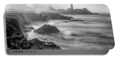 Pigeon Point Rocky Shore Portable Battery Charger