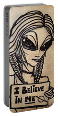 Pigtalien Girl Portable Battery Charger