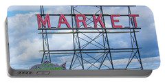 Pike Street Market Portable Battery Charger