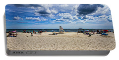 Pike's Beach Typical Summer Day Portable Battery Charger
