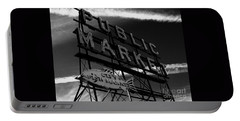 Pikes Place Market Sign Portable Battery Charger