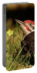 Pileated Woodpecker Portable Battery Charger by Loni Collins
