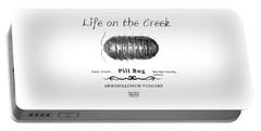 Pill Bug Armadillidium Vulgare Portable Battery Charger