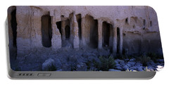 Pillars And Caves, Crowley Lake Portable Battery Charger by Michael Courtney