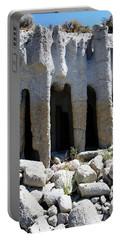 Pillars At Crowley Lake Portable Battery Charger