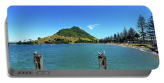 Pilot Bay Beach 2 - Mount Maunganui Tauranga New Zealand Portable Battery Charger