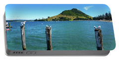 Pilot Bay Beach 3 - Mt Maunganui Tauranga New Zealand Portable Battery Charger