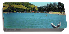 Pilot Bay Beach 5 - Mt Maunganui Tauranga New Zealand Portable Battery Charger