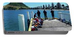 Pilot Bay Beach 7 - Mt Maunganui Tauranga New Zealand Portable Battery Charger