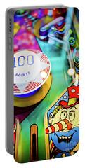 Pinball Art - Clown Portable Battery Charger