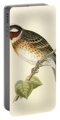 Pine Bunting Portable Battery Charger