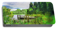 Pine Lake Pier Portable Battery Charger