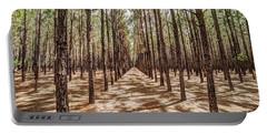 Pine Plantation Wide Color Portable Battery Charger