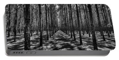 Pine Plantation Wide Portable Battery Charger