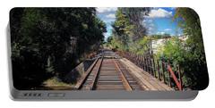 Pine River Railroad Bridge Portable Battery Charger