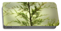 Portable Battery Charger featuring the photograph Pine Shower by Brian Wallace