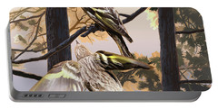 Pine Sisikins Morning Light Portable Battery Charger
