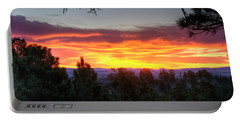 Pine Sunrise Portable Battery Charger