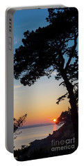 Pine Tree Portable Battery Charger by Delphimages Photo Creations