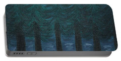 Pine Tree Lake Portable Battery Charger