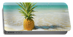 Portable Battery Charger featuring the photograph Pineapple Beach by Sharon Mau