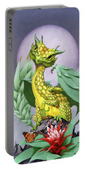 Pineapple Dragon Portable Battery Charger by Stanley Morrison