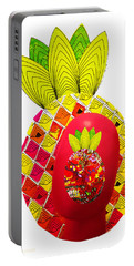 Pineapple Head Portable Battery Charger
