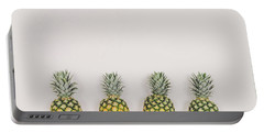 Pineapples Portable Battery Charger by Happy Home Artistry