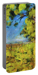 Pines And Vineyard Portable Battery Charger