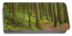 Pines Ferns And Moss Portable Battery Charger