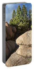 Pines In Granite Portable Battery Charger
