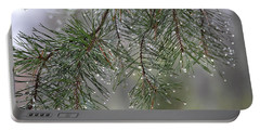 Pines Of Winter Portable Battery Charger
