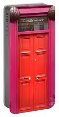Pink And Orange Door Ireland Portable Battery Charger
