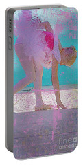 Portable Battery Charger featuring the photograph Pink Ballerina by Craig J Satterlee