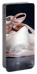 Pink Ballerina Pointe Shoes Portable Battery Charger