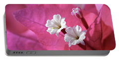 Pink Bougainvillea 2 Portable Battery Charger
