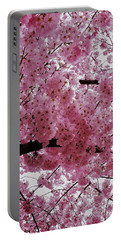 Pink Canopy Portable Battery Charger