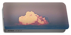 Portable Battery Charger featuring the photograph Pink Cloud by Stephanie Moore