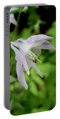 Pink Columbine Portable Battery Charger