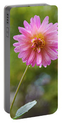 Pink Dahlia 2 Portable Battery Charger