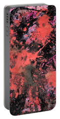 Pink Explosion Portable Battery Charger