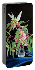 Pink Flowering Gum Portable Battery Charger