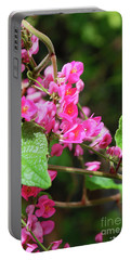 Pink Flowering Vine3 Portable Battery Charger